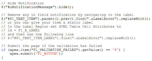 Combining Validations with Dynamic Actions – Explorer UK