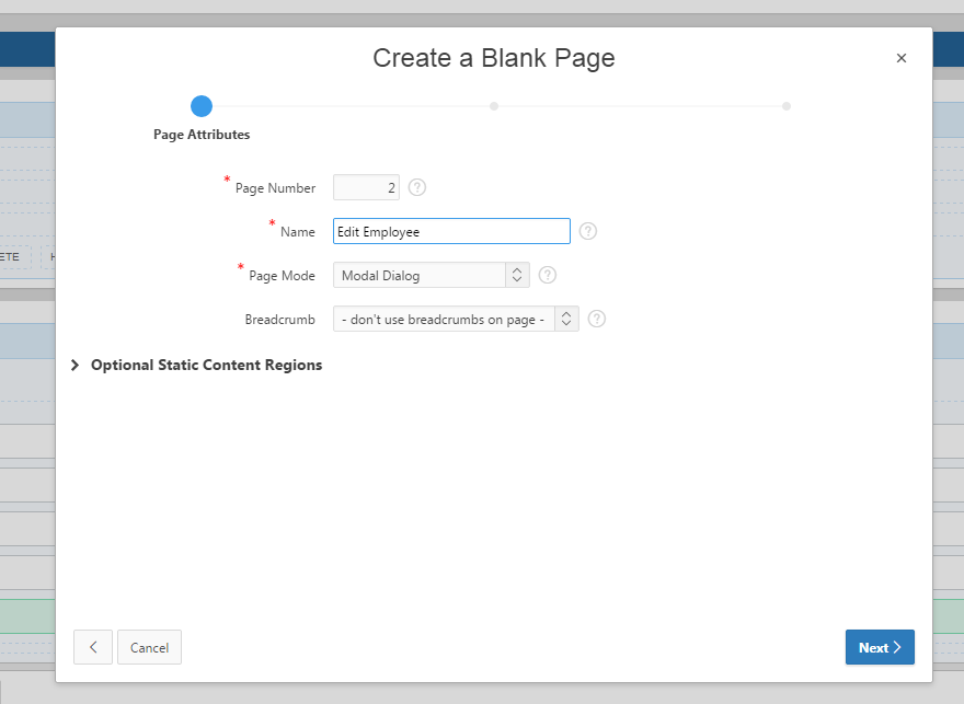 Creating a Modal Dialog in APEX 5 0 – Explorer UK