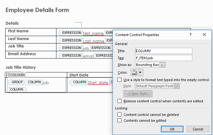 Generating PDF and Word Documents from an APEX application – Explorer UK